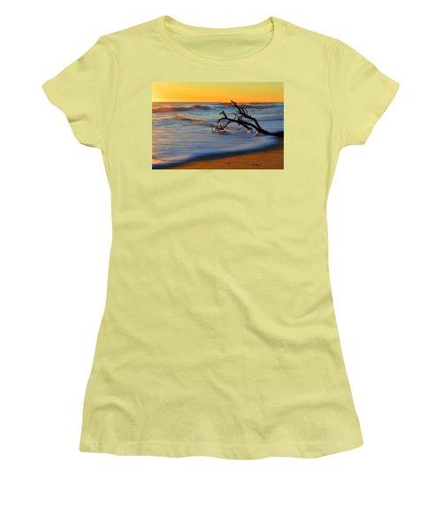 Smooth Move Women's T-Shirt (Junior Cut) by Dianne Cowen