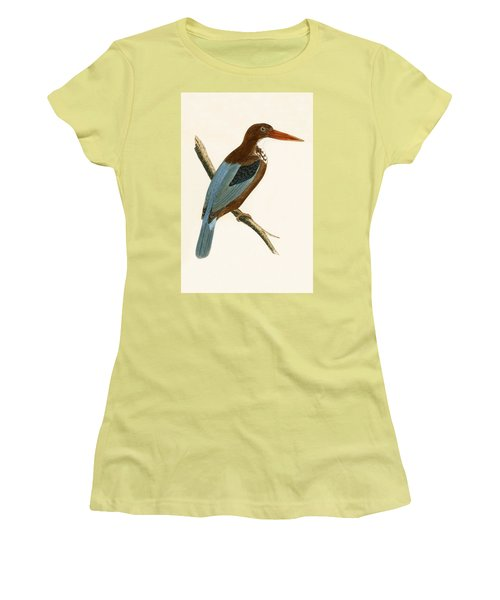 Smyrna Kingfisher Women's T-Shirt (Athletic Fit)