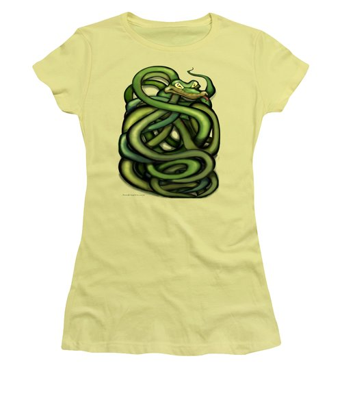 Snakes Women's T-Shirt (Athletic Fit)