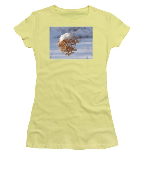 Snow-capped II Women's T-Shirt (Junior Cut) by Christina Verdgeline