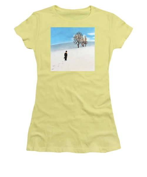 Snow Day Women's T-Shirt (Junior Cut) by Thomas Blood