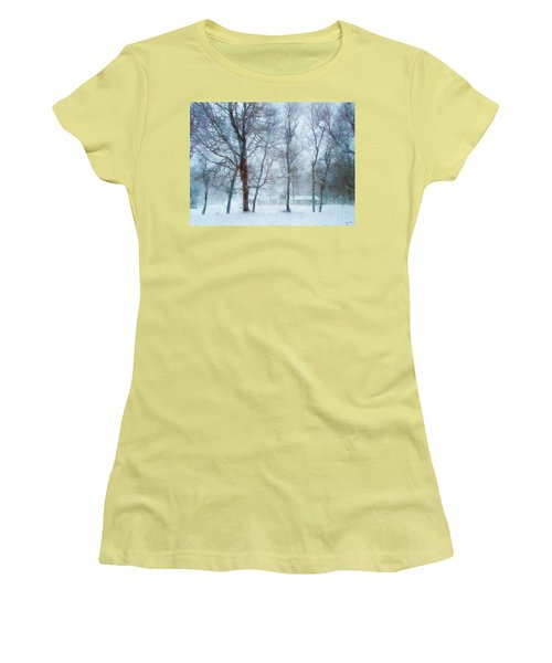 Snow Place Like Home Women's T-Shirt (Athletic Fit)