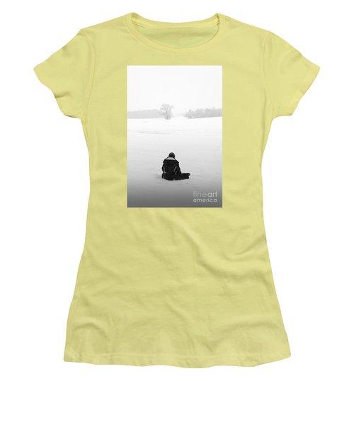 Women's T-Shirt (Junior Cut) featuring the photograph Snow Wonder by Brian Jones