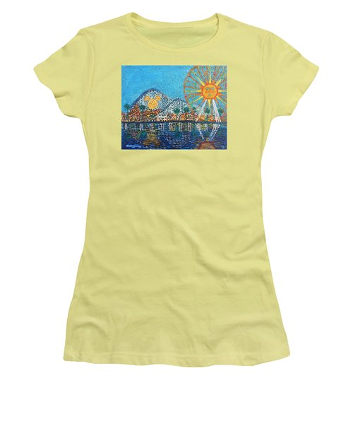 So Cal Adventure Women's T-Shirt (Athletic Fit)