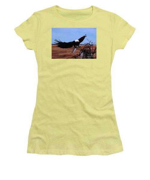Soar Women's T-Shirt (Athletic Fit)