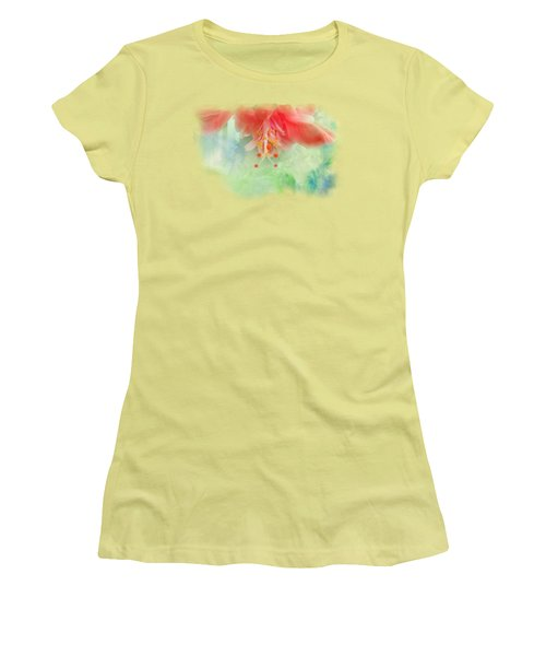 Softly Colored 1 Women's T-Shirt (Athletic Fit)
