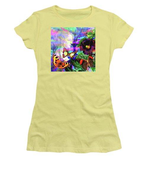 Solar Daydreamer Women's T-Shirt (Junior Cut) by Joseph Mosley