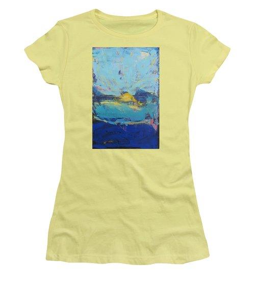 Soleil De Joie Women's T-Shirt (Athletic Fit)