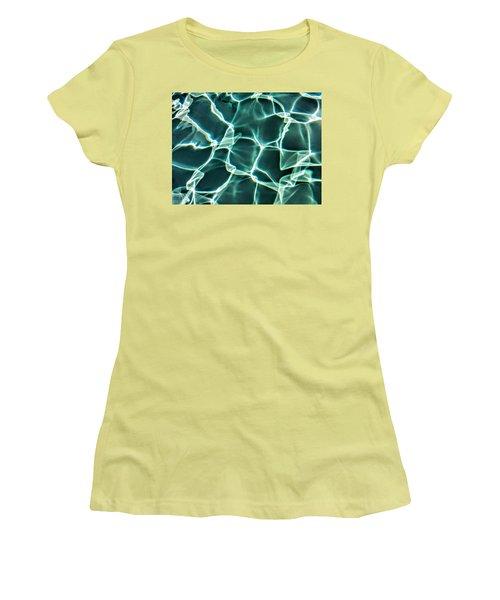 Solid  Women's T-Shirt (Junior Cut) by Joel Loftus