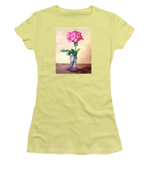 Solo Rose Women's T-Shirt (Athletic Fit)