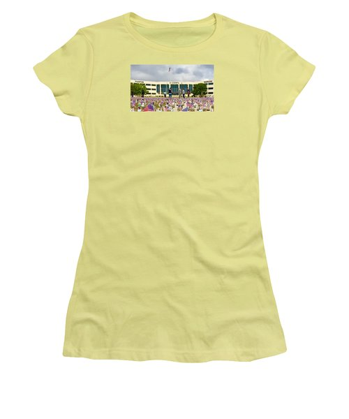 Women's T-Shirt (Junior Cut) featuring the photograph Some Save All - No.2015 by Joe Finney