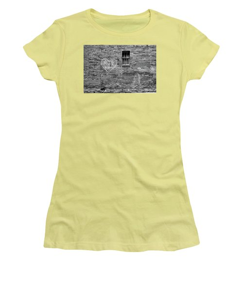 Women's T-Shirt (Athletic Fit) featuring the photograph Somebodie's In Love by Monte Stevens
