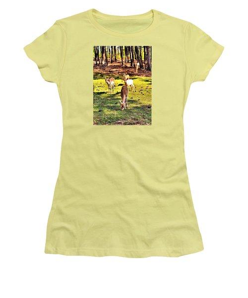Something This Way Cometh Women's T-Shirt (Junior Cut) by James Potts