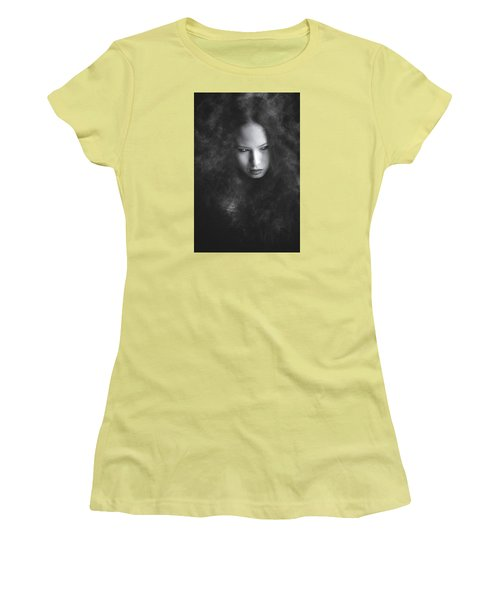 Somethings Brewing Women's T-Shirt (Junior Cut) by Scott Meyer