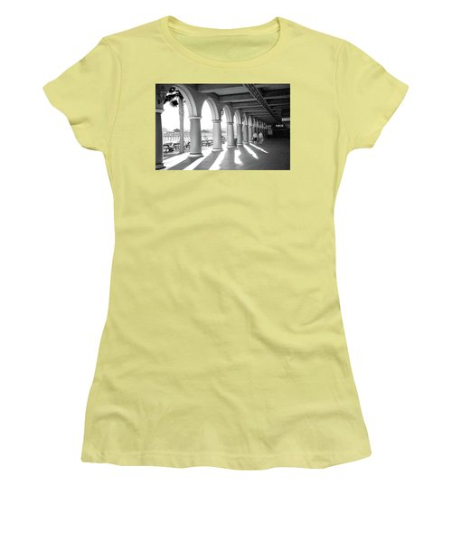 Women's T-Shirt (Athletic Fit) featuring the photograph Sometimes The Party Is Over by Lora Lee Chapman