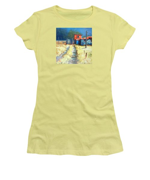 Somewhere Far Away, Peru Impression Women's T-Shirt (Athletic Fit)