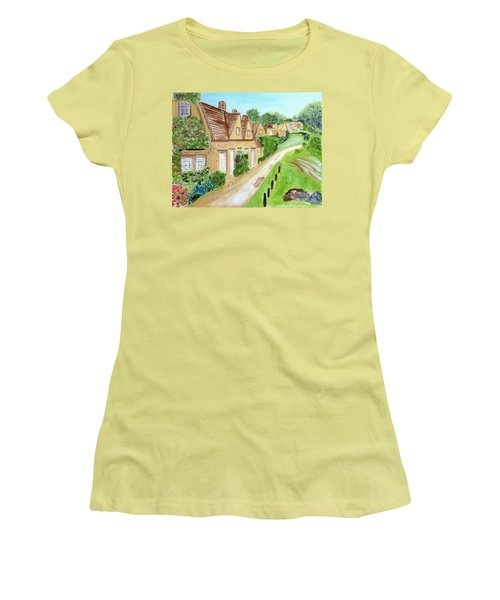 Somewhere In Cotswolds South West England Women's T-Shirt (Athletic Fit)