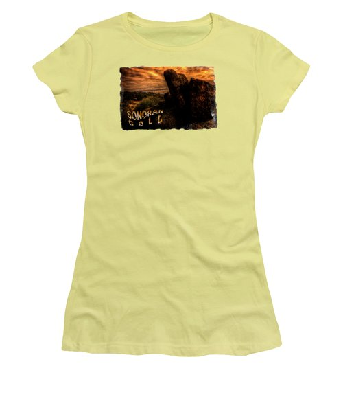 Sonoran Desert Early Morning Women's T-Shirt (Athletic Fit)