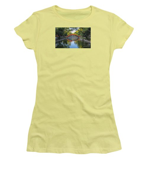 Sorihashi Bridge In Osaka Women's T-Shirt (Athletic Fit)