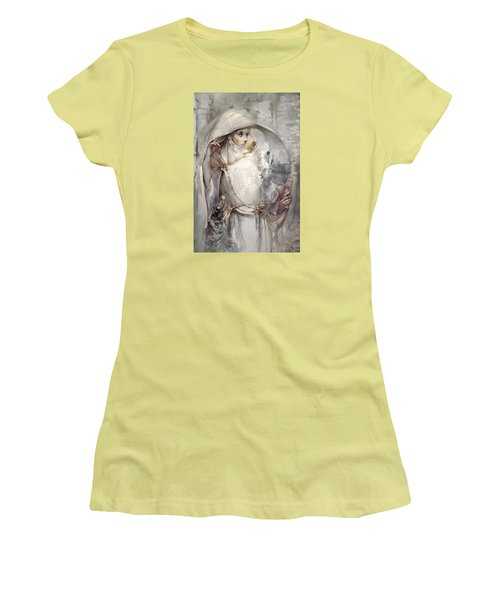 Women's T-Shirt (Junior Cut) featuring the digital art Soul by Te Hu