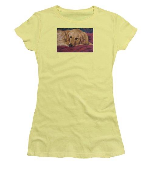 Soulfull Eyes Women's T-Shirt (Athletic Fit)