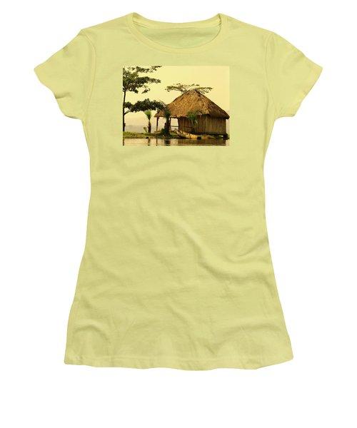 Source Of The Nile Women's T-Shirt (Junior Cut) by Exploramum Exploramum