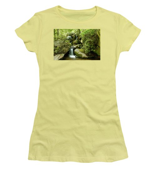 South Mountains Rest Stop Women's T-Shirt (Athletic Fit)