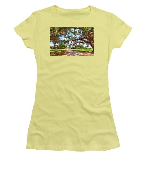 Southern Serenity Women's T-Shirt (Junior Cut) by Steve Harrington