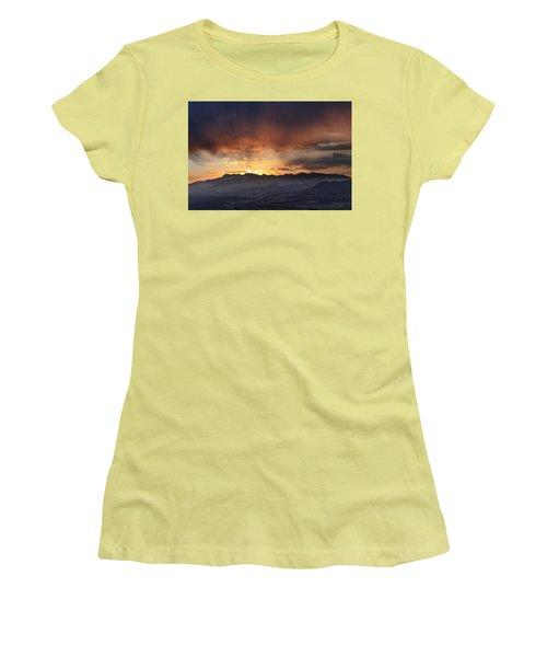Southwest Colorado Sunset Women's T-Shirt (Junior Cut) by John Zeising