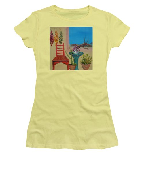 Southwestern 6 Women's T-Shirt (Junior Cut) by Judith Rhue