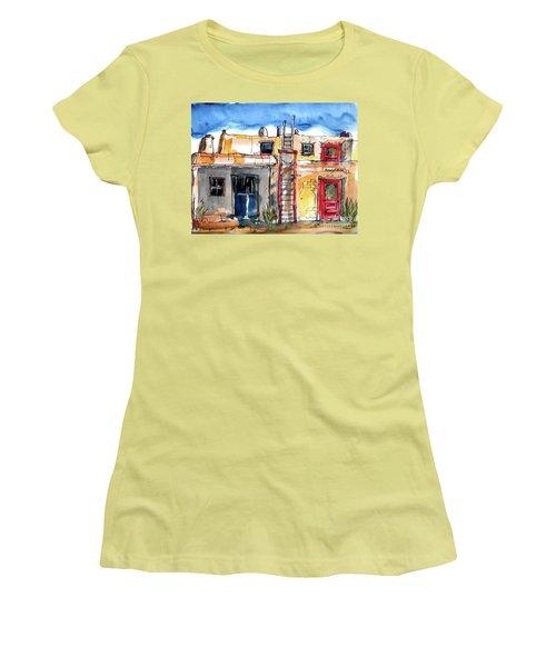 Southwestern Home Women's T-Shirt (Junior Cut) by Terry Banderas
