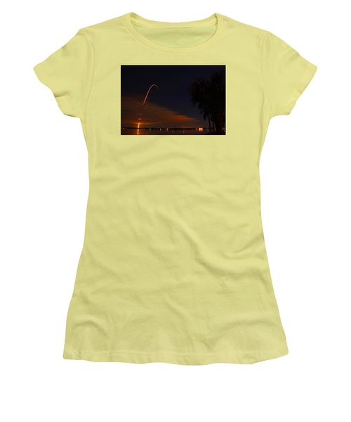 Space Station Bound Women's T-Shirt (Athletic Fit)
