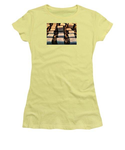 Spam, Spam, Spam, Spam Women's T-Shirt (Junior Cut) by Brenda Pressnall