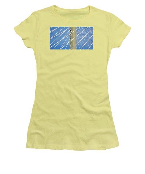 Span Women's T-Shirt (Junior Cut) by Martin Cline