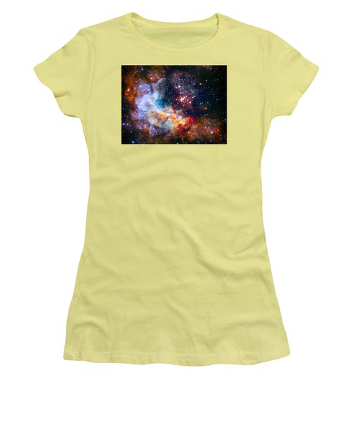 Sparkling Star Cluster Westerlund 2 Women's T-Shirt (Athletic Fit)