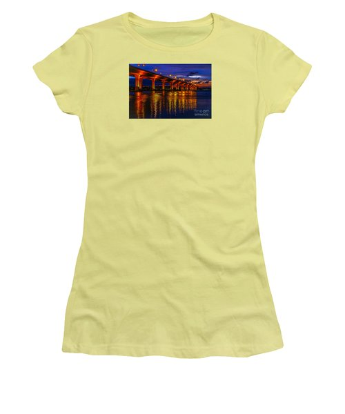 Sparkling Water Women's T-Shirt (Junior Cut) by Tom Claud