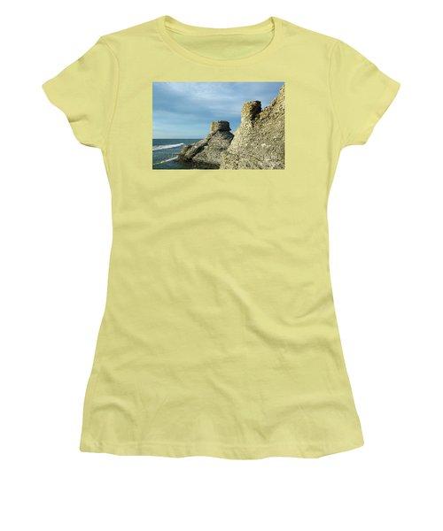 Spectacular Eroded Cliffs  Women's T-Shirt (Junior Cut) by Kennerth and Birgitta Kullman