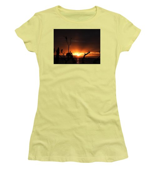 Spectacular Sunset Women's T-Shirt (Junior Cut) by Betty-Anne McDonald
