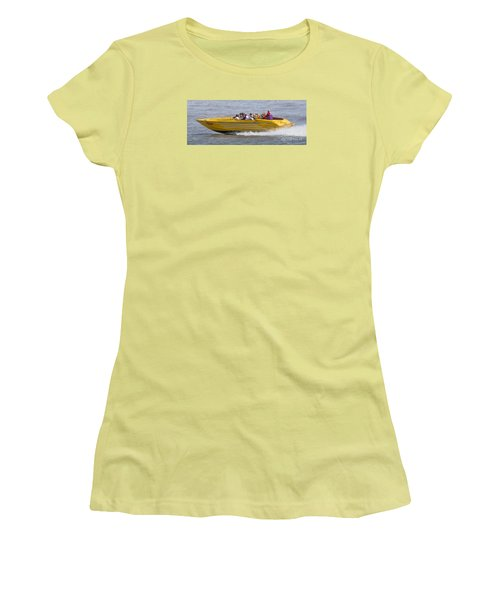 Speedboat Ride Women's T-Shirt (Athletic Fit)