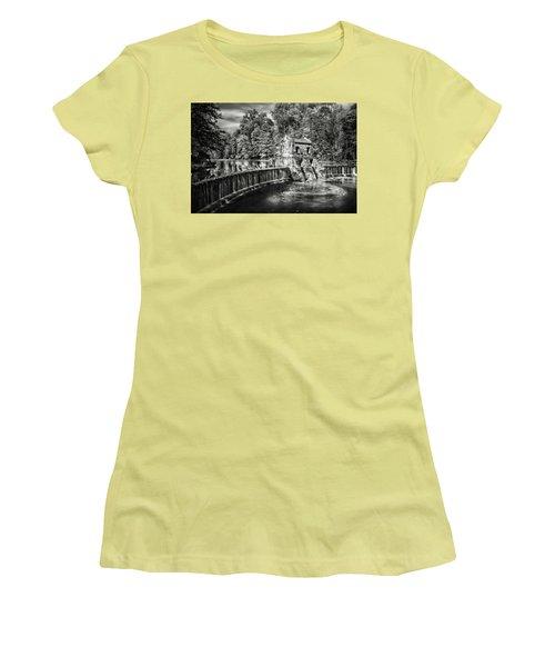 Speedwell Swirls Women's T-Shirt (Junior Cut) by Eduard Moldoveanu