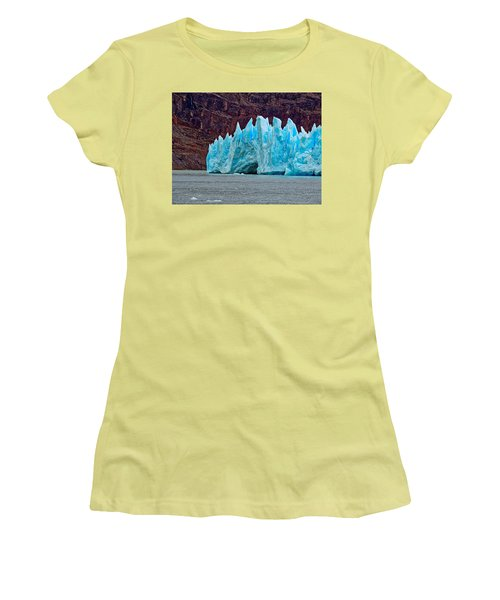 Spires Of Blue Women's T-Shirt (Athletic Fit)