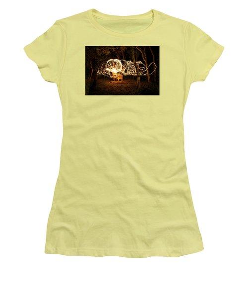 Spirit Dance Women's T-Shirt (Junior Cut) by Ellery Russell