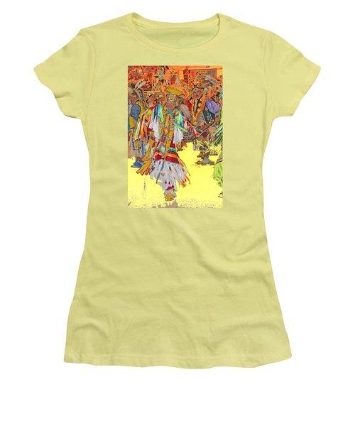 Spirited Moves Women's T-Shirt (Junior Cut) by Audrey Robillard