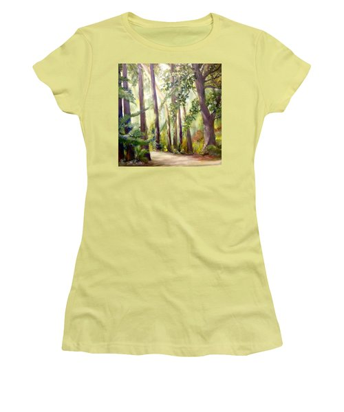Spirt Of The Green Trees Women's T-Shirt (Athletic Fit)