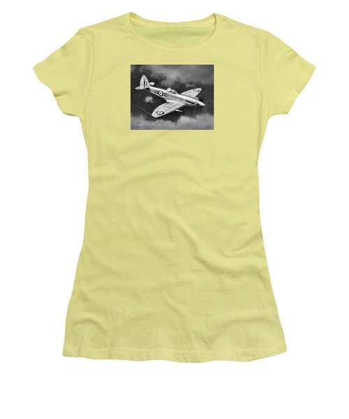Spitfire Mark 22 Women's T-Shirt (Athletic Fit)