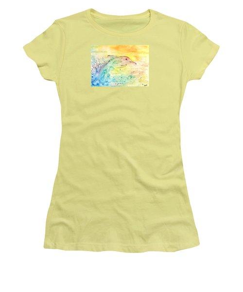 Splash Women's T-Shirt (Athletic Fit)