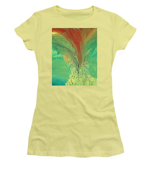 Splash Women's T-Shirt (Junior Cut) by Karen Nicholson