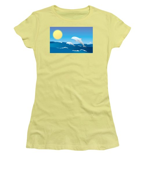 Splash Women's T-Shirt (Junior Cut)