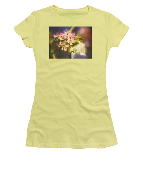 Splash Of Spring Women's T-Shirt (Athletic Fit)