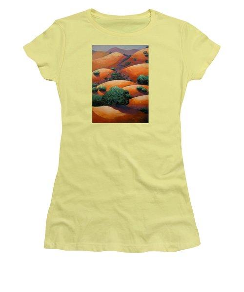 Splendid Uphill Women's T-Shirt (Junior Cut) by Gary Coleman